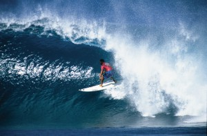 Oahu, Mexico - Surfer - Oahu's North Shore.