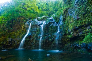 Maui, Hawaii - Honeymoon Locations - Waterfall