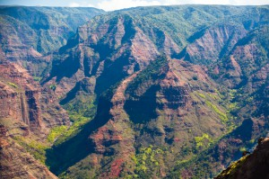 "Kauai ""The Garden Island"" - Waimea Canyon"