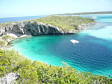 Long Island in the Bahamas - Dean Blue Hole