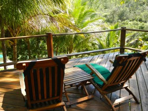 San Ignacio, Belize - Outdoor Porch