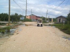 Caye Caulker, Belize - Caye Cart