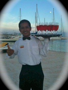 Cancun, Mexico- Drink Waiter