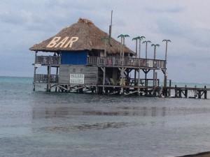 Ambergris Caye, Belize - Palapas