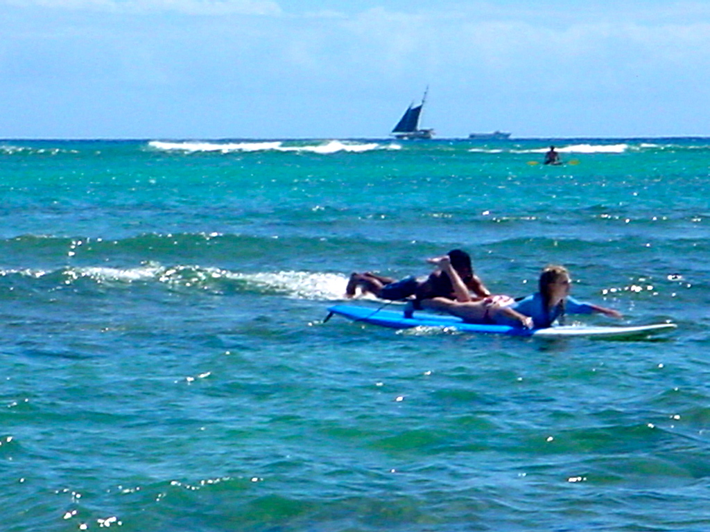 Oahu, Hawaii - Surfing
