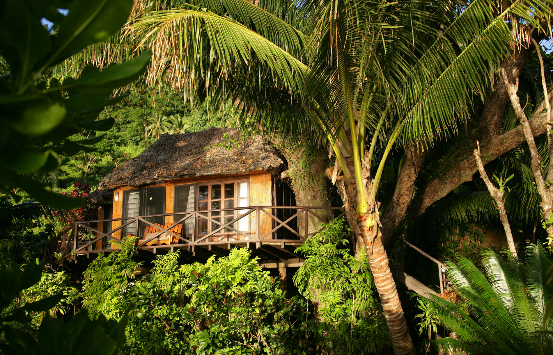 Fiji - Romantic Honeymoon Destinations - Matangi Treehouse