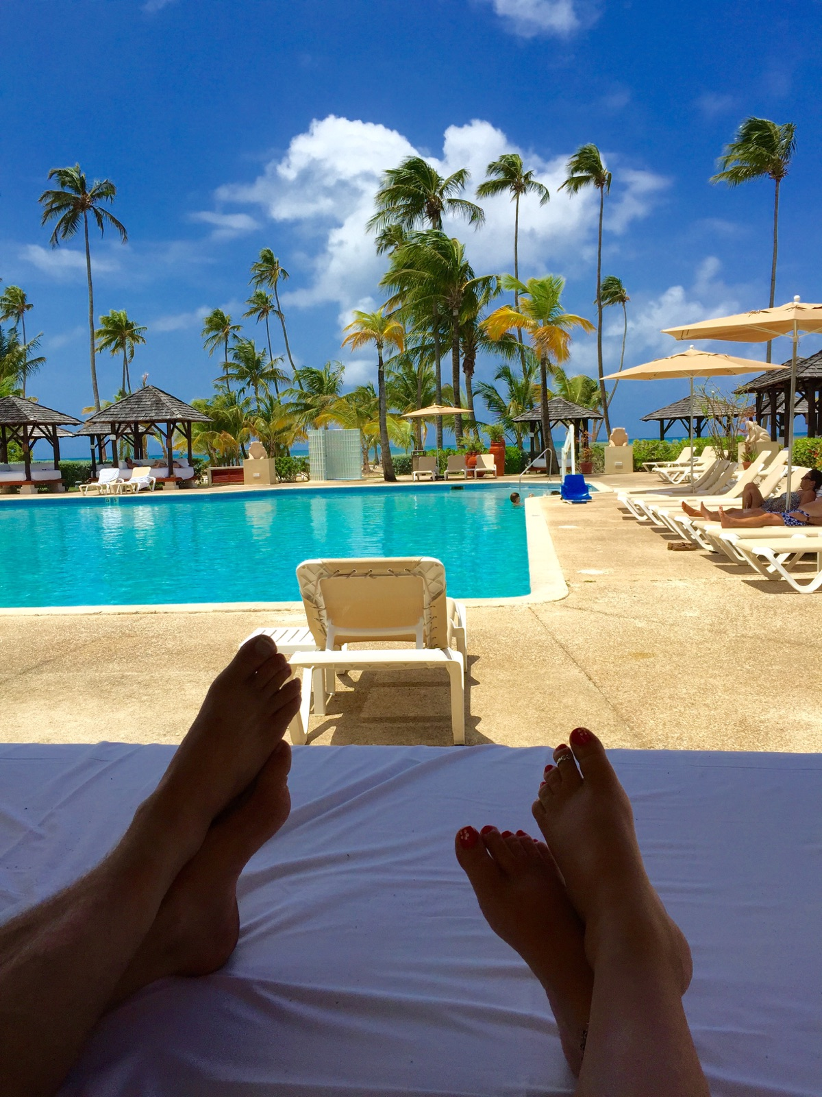 Gran Melia, Club Level Pool, Puerto Rico