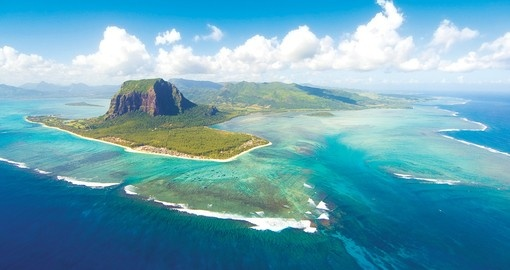 Mauritius, in the middle of the indian ocean.