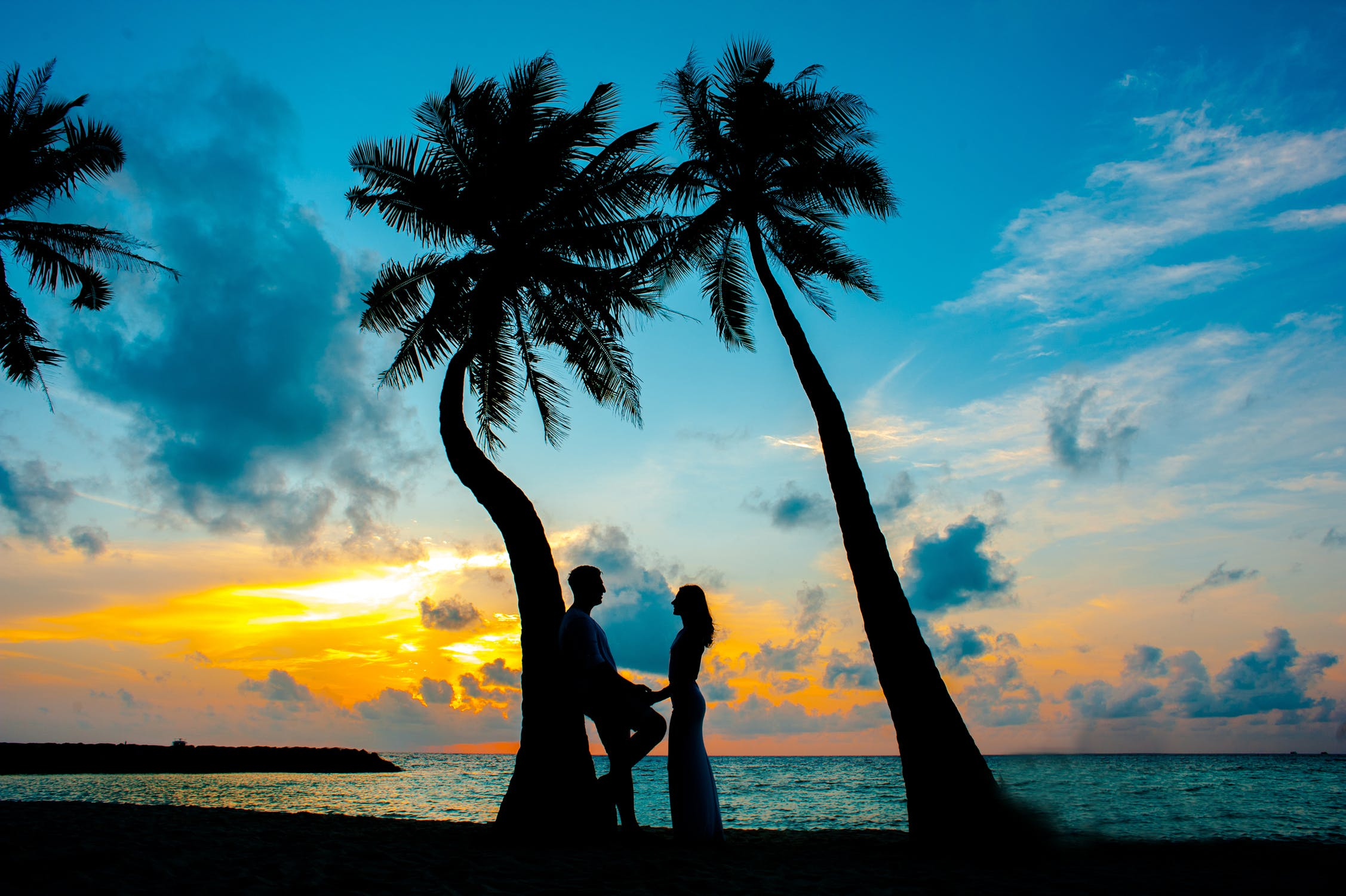 romance in maldives