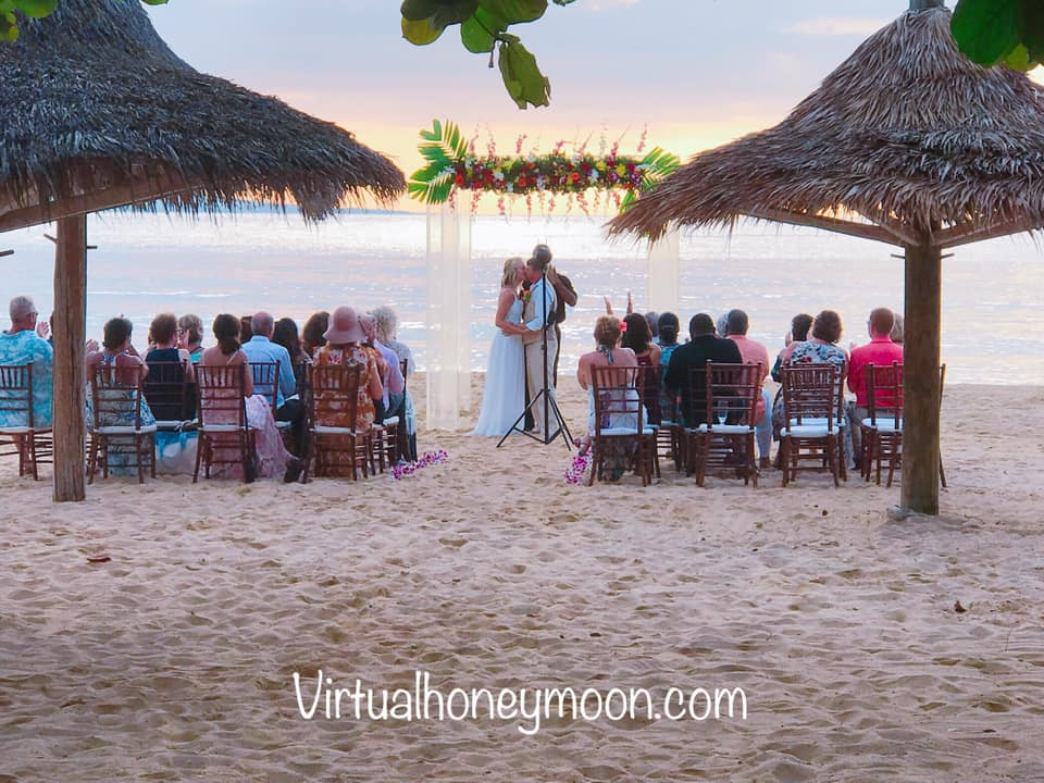 Virtual reality wedding