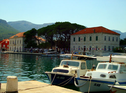 marina in croatia
